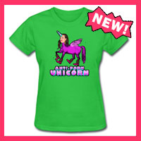Anti-Porn Unicorn Shirt